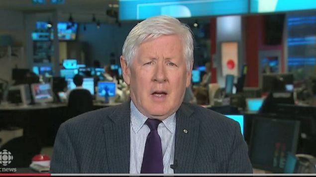 مبعوث كندا الخاص إلى ميانمار بوب راي يتحدّث إلى تلفزيون سي بي سي هيئة الإذاعة الكنديّة/CBC