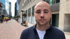 جيمس هات رئيس مجموعة الوقاية من الجرعات المفرطة في اوتاوا/Radio-Canada/Krystalle Ramlakhan/CBC