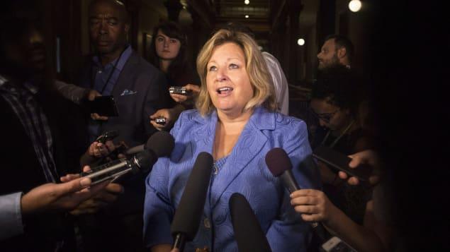 ليزا تمسون وزيرة التعليم في أونتاريو تعتزم التشاور مع أولياء - PC/Chris Young