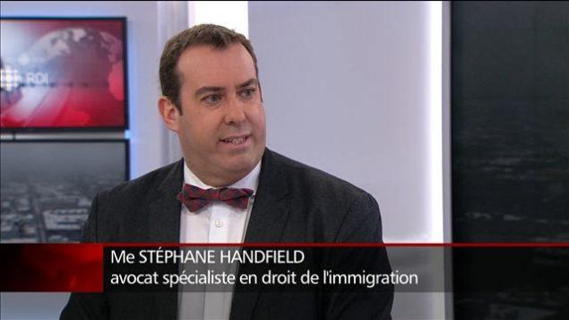 المحامي المتخصص في شؤون الهجرة واللجوء ستيفان هاندفيلد/راديو كندا