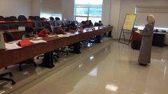 أحد أقسام تدريس اللغة العربية التابع للمركز الثقافب العربي في مدرسة NBCC في فريدريكتون - Abdel Ghafur
