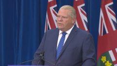 رئيس حكومة مقاطعة أونتاريو، دوغ فورد (Radio-Canada)