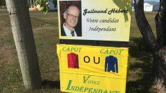 المرشح المستقل غيلموند إيبير واثق من الدور الذي سيلعبه في الانتخابات المقبلة في نيوبرنسويك كمرشح مستقل/راديو كندا