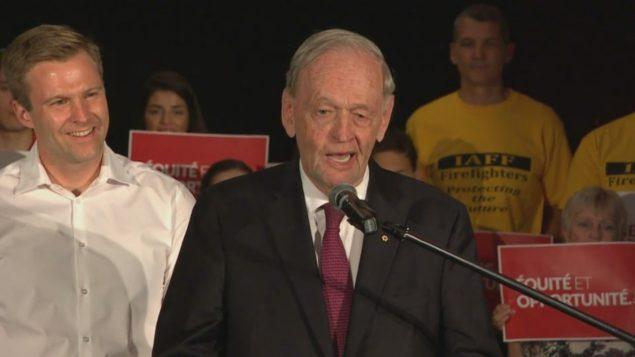 رئيس الوزراء الكندي الأسبق جان كريتيان يدعو لانتخاب برايان غالانت للولاية جديدة ويشيد به/راديو كندا