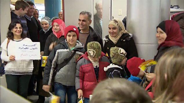 بدأت مقاطعة نيوبرنزويك في الشرق الكندي باستقبال اللاجئين السوريين في العام 2015/هيئة الإذاعة الكندية