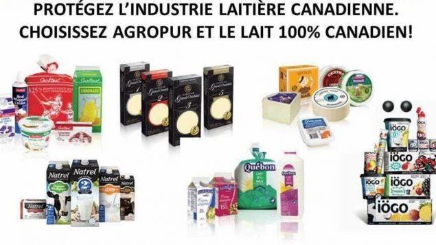 يتقاسم العديد من رواد مواقع التواصل الاجتماعي صور منتجات الحليب الكندي – Facebook