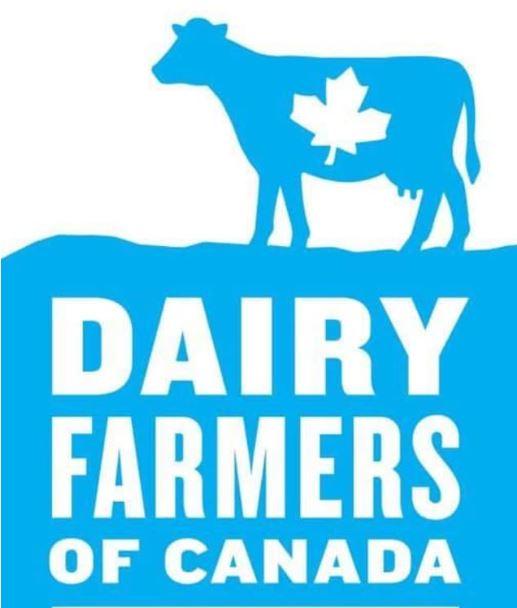 رمز جمعية منتجي الحليب الكندية، البقرة الزرقاء، للتأكد من أن الحليب 100% كندي – Dairy Farmres of Canada