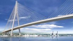 بناء جسر غوردي-هاو وصيانته لمدة 30 عاما سيكلف ما يقرب من 6 مليارات دولار - Courtesy of Windsor-Detroit Bridge Authority