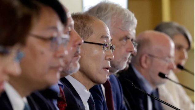 مجموعة الخبراء الحكوميّين حول التغيّر المناخي حذّرت خلال اجتماعها في كوريا الجنوبيّة من تداعيات ارتفاع درجة حرارة الأرض/(Ahn Young-joon/AP