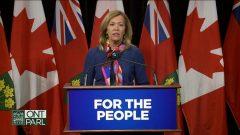 وزيرة الصحّة في اونتاريو كريستين اليوت أعلنت عن استراتيجيّة جديدة لمكافحة أشباه الأفيونيّات في المقاطعة/Radio-Canada