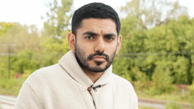 الطالب السعودي المعارض اللاجئ في كندا  عمر عبد العزيز /Anand Ramakrishnan/CBCNews
