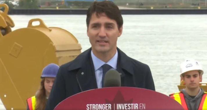 أكّد جوستان ترودو أن الجسر الجديد سيعطي دفعا لنموالاقتصاد المحلي والكندي وسيشجع التجارة والاستثمار على كلا الجهتين من الحدود كندا والولايات المتحدة الأمريكية
