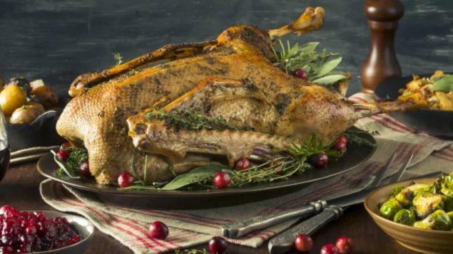الديك الرومي طبق تقليدي في عيد الشكر/Shutterstock