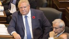 رئيس حكومة اونتاريو دوغ فورد أعلن عن الغاء مشروع لإنشاء جامعة اونتاريو الفرنسيّة/Chris Young/CP