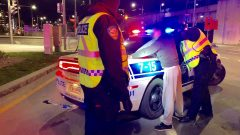 الشرطة الكنديّة أفادت عن استقرار عدد المخالفات المتعلّقة بالقيادة تحت تأثير الماريجوانا منذ تشريع استهلاكها في 17-10-2018/ Radio-Canada/Pascal Robidas