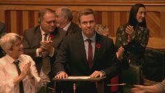 رئيس حكومة نيوبرنزويك برايان غالانت خسر التصويت على الثقة بحكومته وأعلن استقالته من منصبه/Radio Canada