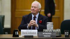 ديفيد جونستون، الحاكم العام السابق لكندا (2010-2017) - Sean Kilpatrick/Canadian Press