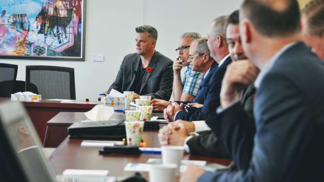 روبير غوفان يشارك في أول اجتماع لحزب المحافظين في نيوبرنسويك بزعامة بلين هيجز/راديو كندا
