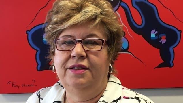 سو دولانوي، المديرة العامّة لمؤسّسة اليزابيث فراي ندّدت باكتظاظ سجن النساء في مدينة برنس البرت في مقاطعة سسكتشوان/Radio-Canada/Jason Warick