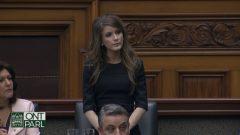 أماندا سيمار النائبة المستقلّة في الجمعية التشريعية في مقاطعة أونتاريو - Radio Canada