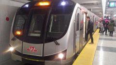 شهد قطار الأنفاق في مدينة تورونتو 45 محاولة انتحار عام 2017/Radio-Canada/Marko Roy
