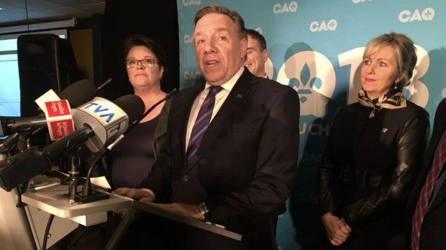 فرانسوا لوغو، رئيس حكومة كيبيك وزعيم التحالف من أجل مستقبل كيبيك - Melissa Paradis/Radio Canada