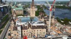 عملية تهيئة البناية المجاورة للمقر الحالي لمجلس العموم - Radio Canada