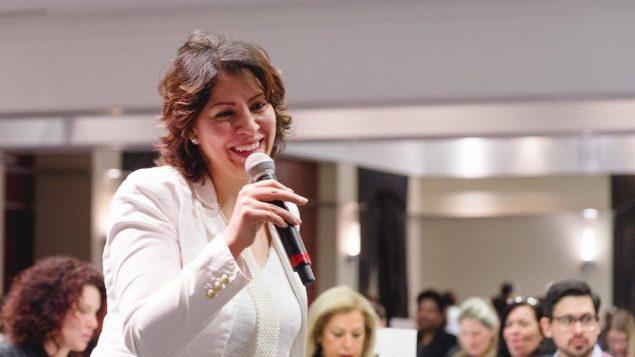 الكنديّة المغربيّة مريمة زهوري ناشطة لمساعدة المرأة المهاجرة على الاندماج في سوق العمل الكنديّة/فيسبوك/مريمة زهوري