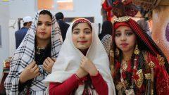 فتيات أمازيغيات من مدينة زوارة في ليبيا في زيهن التقليدي الأمازيغي - Facebook