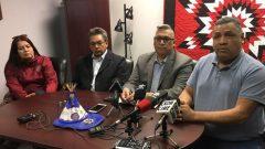 زعماء من السكان الأصليين في ندوة صحفية في سسكاتون - Radio Canada