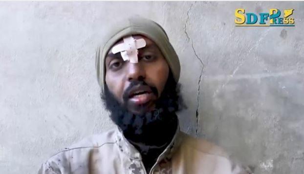 """العضو كندي المزعوم في تنظيم """"الدولة الإسلامية"""" المسلّح يدّعي أن اسمه محمد عبد الله محمد - SDF via CBC"""