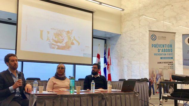 حلقة نقاش من تنظيم مركز مكافحة التطرف المؤدي إلى العنف في منوتريال بالتعاون مع جمعية التقارب (C.O.R) ومشاركة جمعية الأصوات اليهودية المستقلة في كندا - Twitter/info-radical.org
