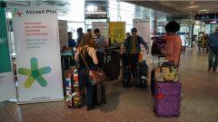 استقبال الطلبة الأجانب في مطار مونتريال (أرشيف) - Radio Canada