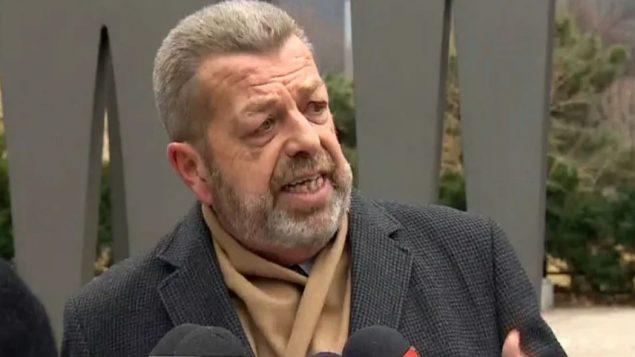 سام هاموند رئيس اتّحاد معلّمي المرحلة الابتدائيّة في اونتاريو/CBC/هيئة الاذاعة الكنديّة