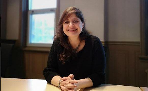 نسرين اليحي رئيسة اللجنة الاستشارية لشؤون المهاجرين في كيبيك - Photo : Nesrine Al Yahia