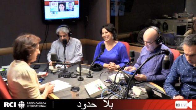 أسرة القسم العربي وضيفتنا السيّدة مريمة زهوري في برنامج بلا حدود في 04-01-2019/RCI
