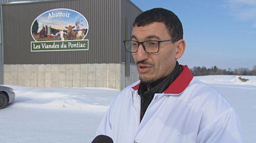 سفيان الكتروسي رئيس مسلخ بونياك - Radio Canada