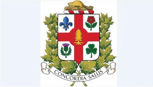 شعار مدينة مونتريال يشمل الصنوبر الأبيض، رمز السكان الأصليين - Radio Canada/Ville de Montreal