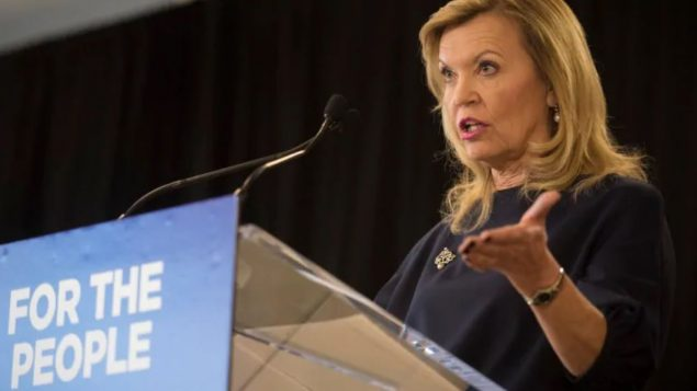 وزيرة الصحّة في مقاطعة اونتاريو كريستين اليوت /Tijana Martin/CP