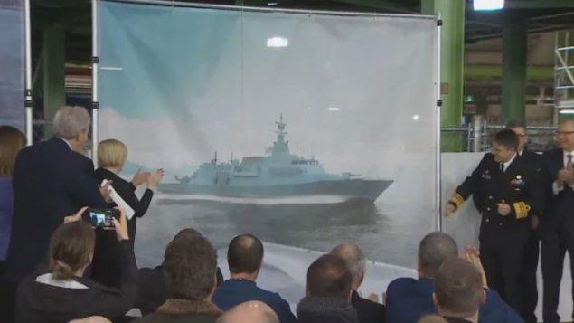 سيكلف بناء هذه الفرقاطات حوالي 60 مليار دولار كندي - CBC