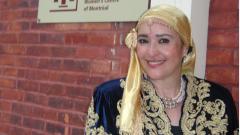 الناشطة الثقافية الكندية الفلسطينية ناريمان الخزوز/الصورة تقدمة السيدة خزوز