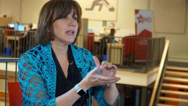 لورين لافرونيير رئيسة رابطة مدرّبي الرياضة وصفت الاعتداءات الجنسيّة بحقّ قاصرين بأنّها مقزّزة/ CBC/هيئة الاذاعة الكنديّة