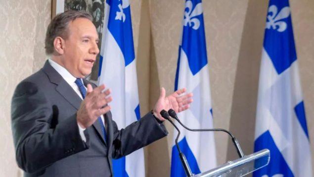 فرانسوا لوغو رئيس حكومة كيبيك وزعيم حزب التحالف من أجل مستقبل كيبيك /Ryan Remiorz/CP