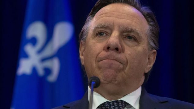 رئيس حكومة كيبيك فرانسوا لوغو/Adrian Wyld/CP
