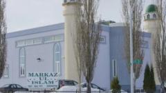 مسجد المركز الإسلامي UI-Islam في ادمنتون عاصمة مقاطعة البرتا في الغرب الكندي/CBC