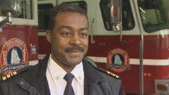 كوري بيلز تولّى منصبا اداريّا رفيعا في جهاز الإطفاء في مدينة هاليفاكس/ CBC/Craig Paisley/هيئة الاذاعة الكنديّة