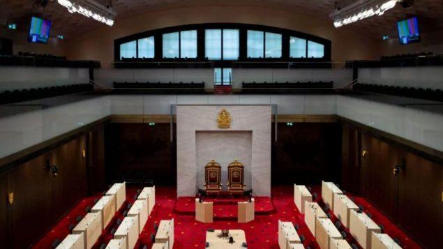 المقرّ المؤقّت لمجلس الشيوخ الكندي/Justin Tan/CP