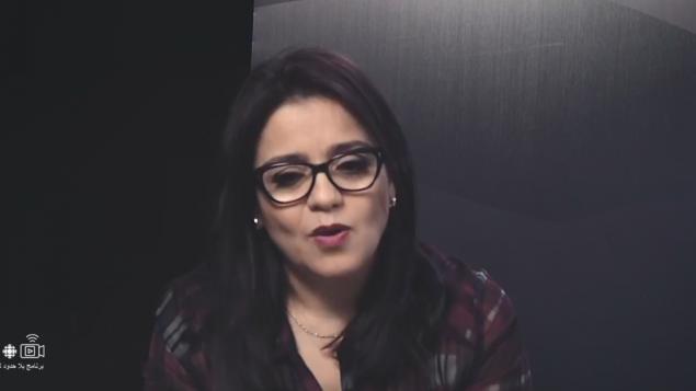 أمال بوعزّة المديرة العامّة لشركة كينزا ميديا فارم تقول إنّ الجالية الجزائريّة في كندا وسواها تدعم بشدّة أبناء الوطن الأم /RCI