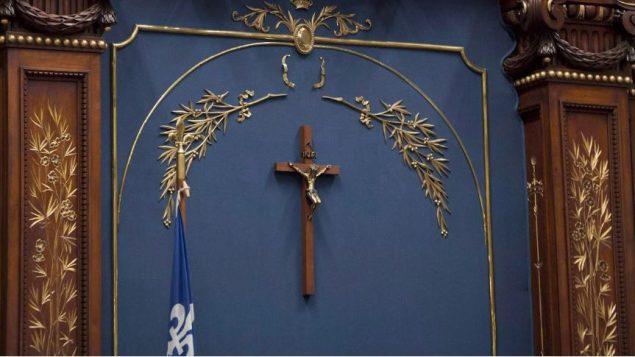 قرار سحب الصليب من الصالون الأزرق في الجمعية الوطنية بر لمان كيبيك تم بالإجماع/راديو كندا