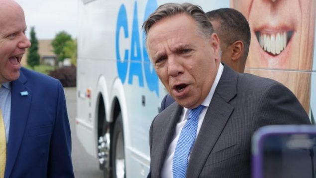 قرار فرانسوا لوغو رئيس حكومة كيبيك بخفض عدد المهاجرين في المقاطعة فاجأ العديد من الأوساط/Radio-Canada